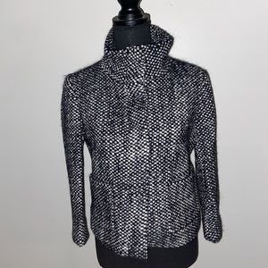 Ann Taylor Loft tweed coat